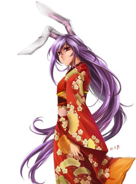 うどんげと和服-16