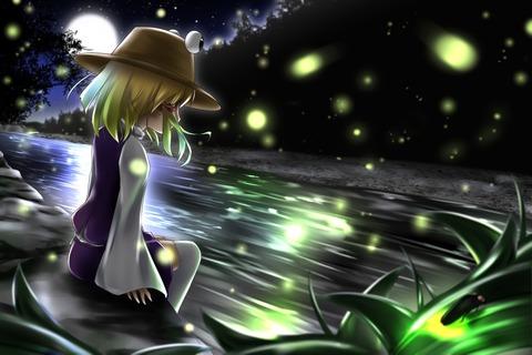 洩矢諏訪子と森-01