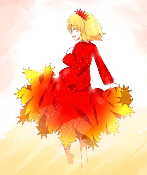 秋静葉スカート-27