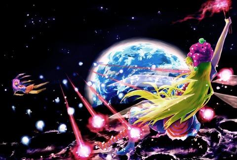 クラウンピースと宇宙-01