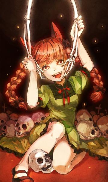 火焔猫燐と髑髏-23