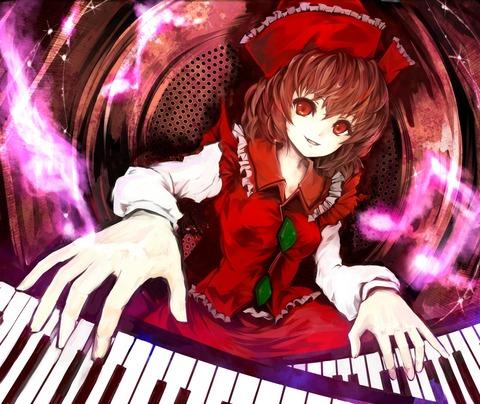 リリカとキーボード-08
