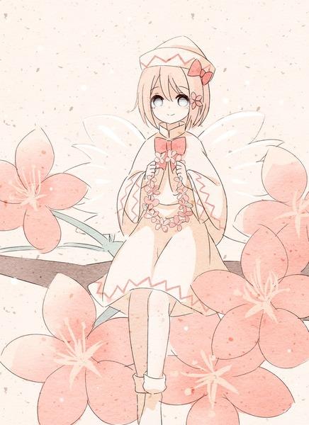 リリーと桜2017-06