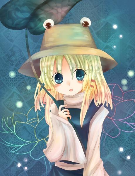 洩矢諏訪子と葉っぱ傘-28