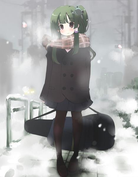 東風谷早苗と冬-21