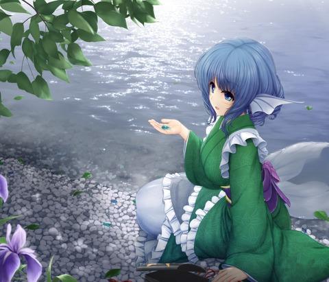 わかさぎ姫水辺-46