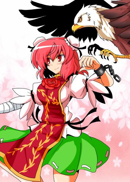 茨木華扇と鷲-49