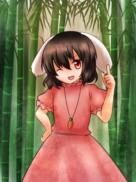 因幡てゐと竹林-10