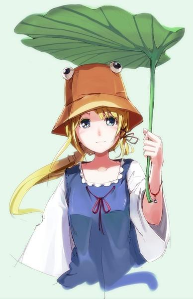 洩矢諏訪子と葉っぱ傘-34