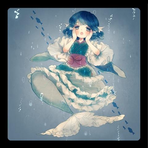 わかさぎ姫と魚-22