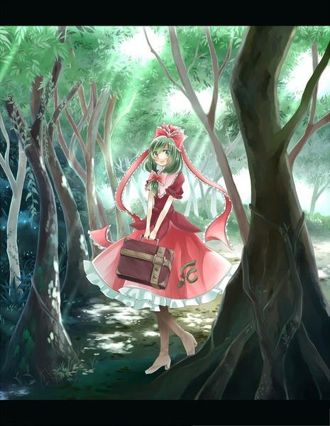 鍵山雛と森-25