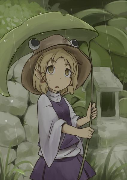 洩矢諏訪子と葉っぱ傘-26