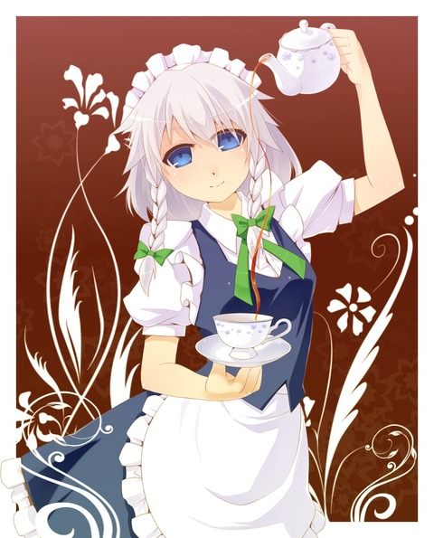 十六夜咲夜と紅茶-27