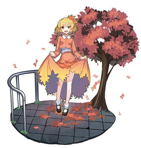 秋静葉スカート-39