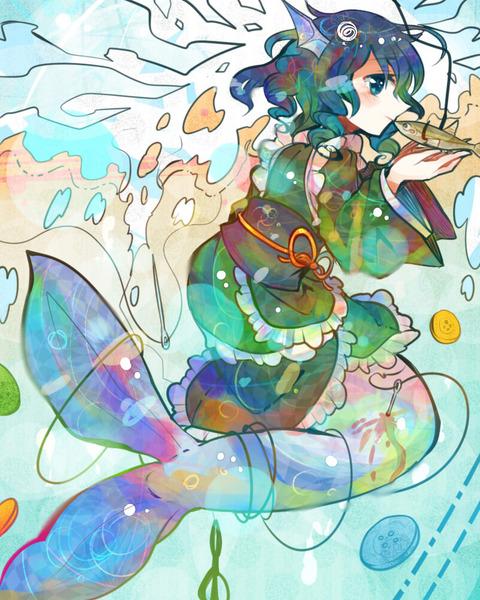 わかさぎ姫と魚-27