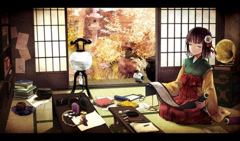 稗田阿求と和室-49