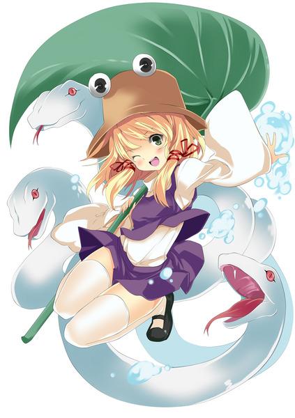 洩矢諏訪子と葉っぱ傘-30