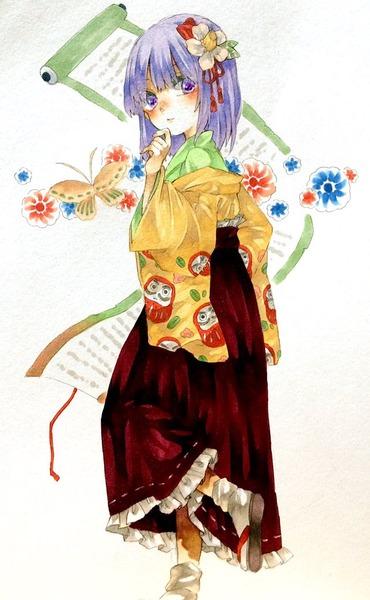 稗田阿求靴下-15