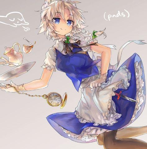 十六夜咲夜と紅茶-29