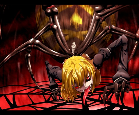 黒谷ヤマメ蜘蛛-46