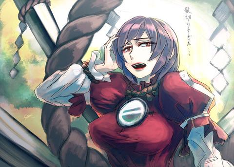 八坂神奈子と鏡-14