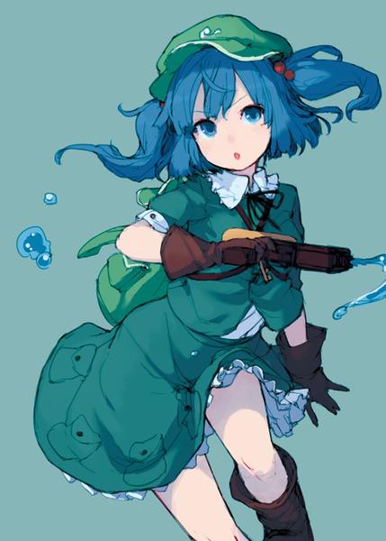 河城にとりと銃-21