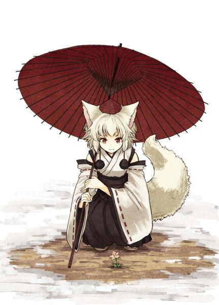 犬走椛と傘-17
