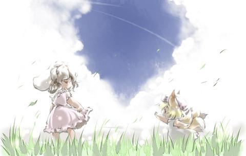 東方空と雲-11