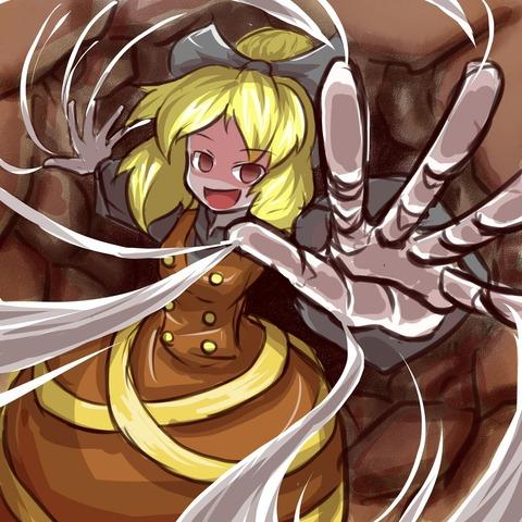 ヤマメ蜘蛛の巣2-19