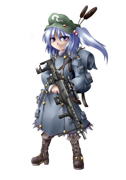 河城にとりと銃-13