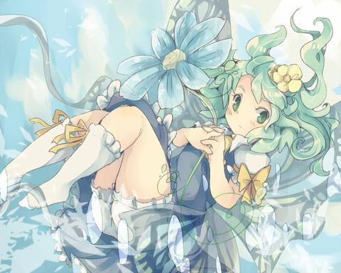 大妖精と花-17