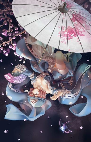 西行寺幽々子と和傘-36