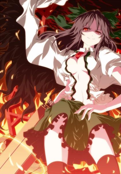 霊烏路空と炎-14