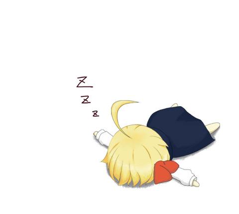 寝ルーミア-37