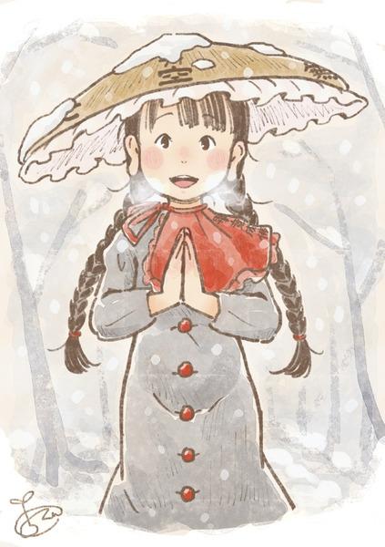 矢田寺成美と雪-49