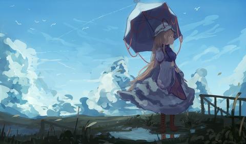 東方空と雲-10