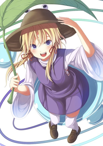 洩矢諏訪子と葉っぱ傘-14