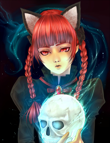 火焔猫燐と髑髏-44