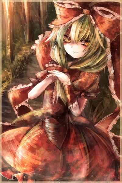 鍵山雛と森-15