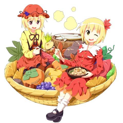 秋穣子と食べ物-05