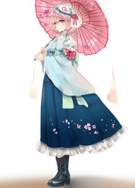 西行寺幽々子と和傘-26