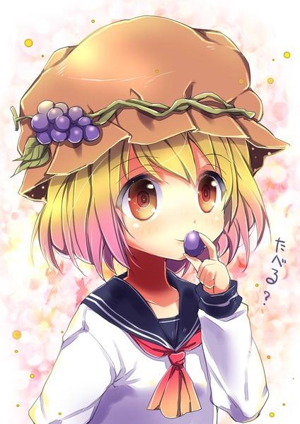 秋穣子と食べ物-31