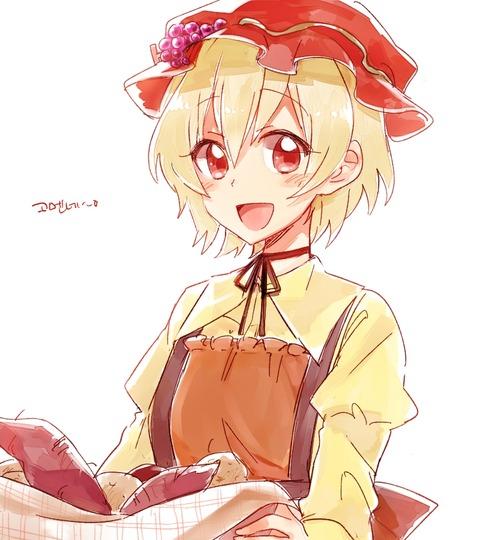 秋穣子と食べ物-39