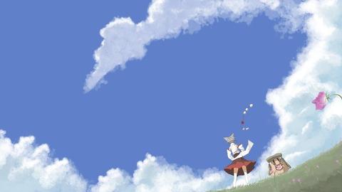 東方空と雲-32