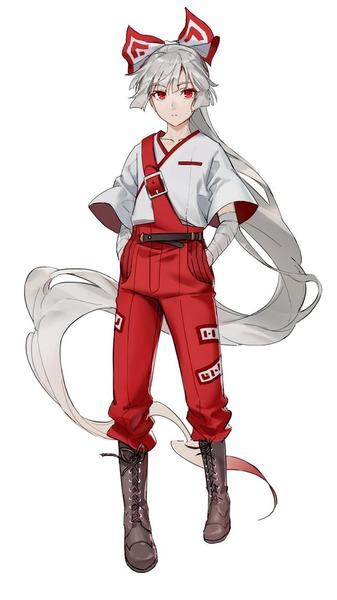 妹紅別衣装-45