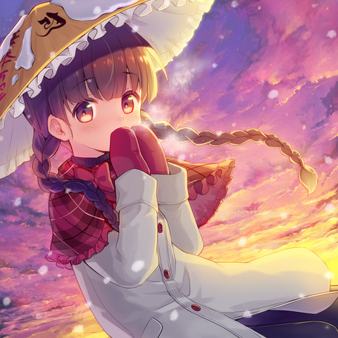 矢田寺成美と雪-26