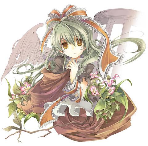 鍵山雛と花-51