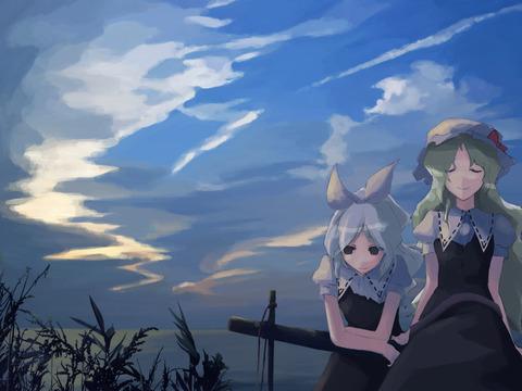 東方空と雲-15