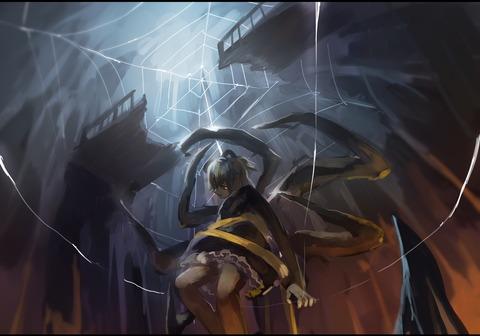 ヤマメ蜘蛛の巣2-17