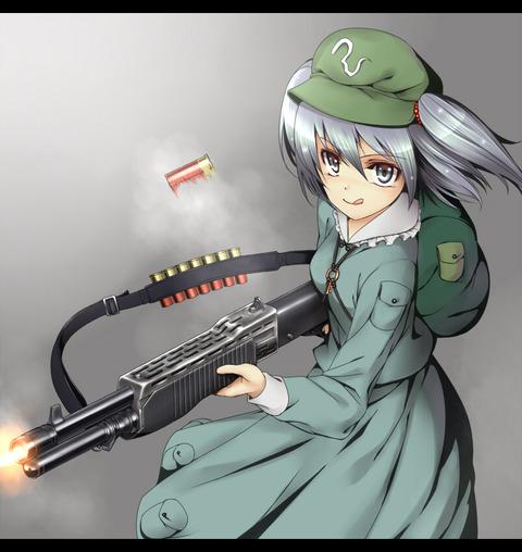 河城にとりと銃-22
